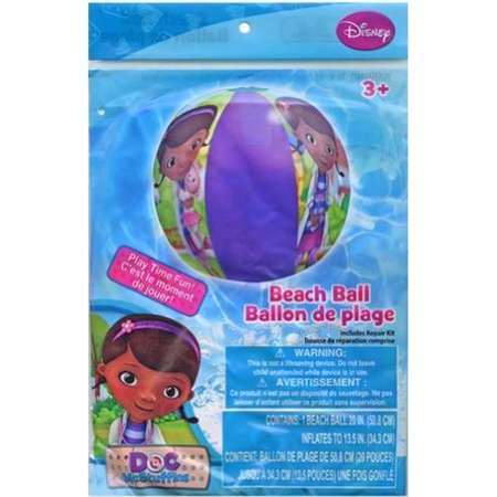 Officially Licensed Character Beach Ball (Doc McStuffins) thumb