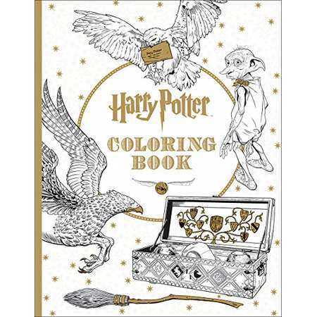 Harry Potter Coloring Book Thumb