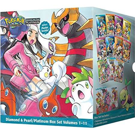 Pokémon Adventures Diamond & Pearl/Platinum Box Set (Pokemon) thumb