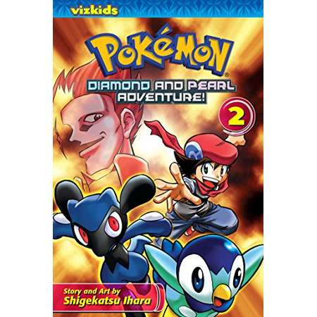 Pokémon: Diamond and Pearl Adventure!, Vol. 2 (Pokemon) thumb