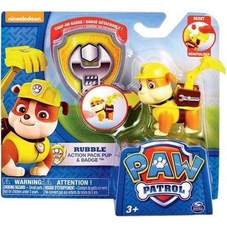 Paw Patrol Pup with Transforming Backpack - Assorted thumb