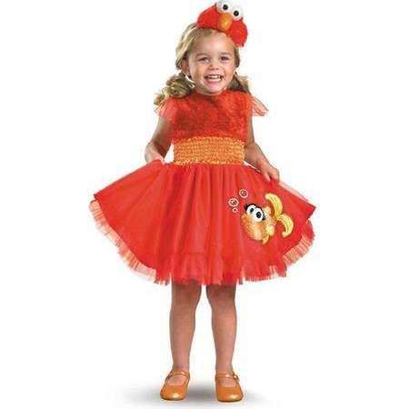Sesame Street- Frilly Elmo Toddler Costume thumb