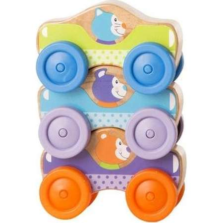 Melissa & Doug Animal Stacking Cars thumb