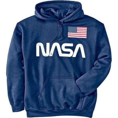 NASA Guys Hooded Screen Fleece thumb