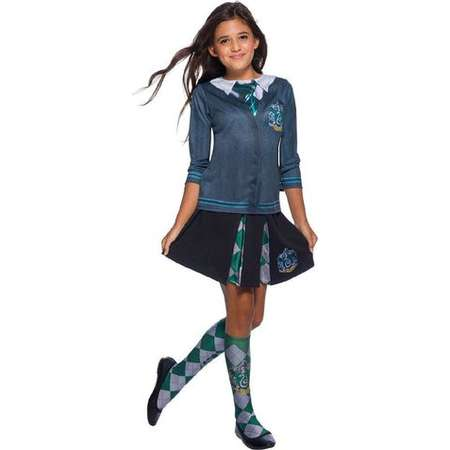 The Wizarding World Of Harry Potter Child Slytherin Costume Top thumb