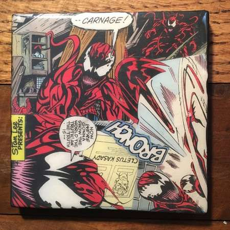 Carnage Comic Drink Coaster thumb