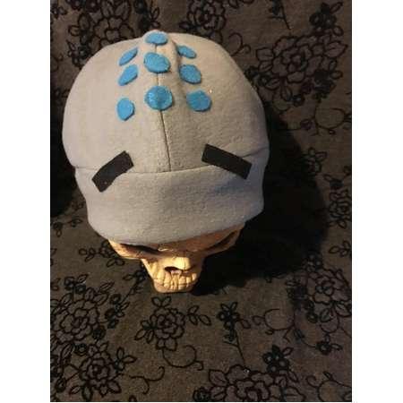 531195fa5ce Zenyatta Overwatch Fleece Hat Costume Hat Cosplay thumb