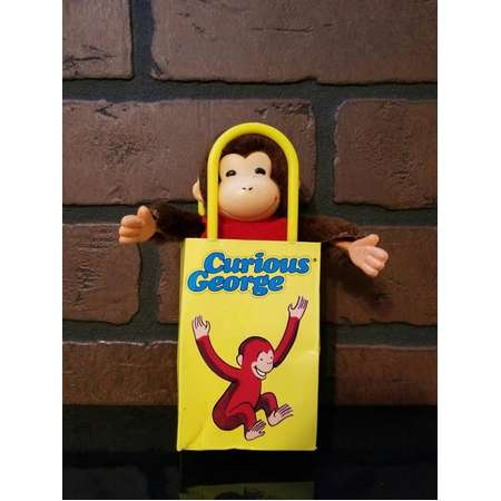 Vintage 1988 Curious George Doll in Bag thumb