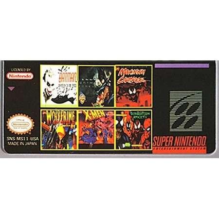 SNES Game | Batman | Maximum Carnage | Wolverine | Xmen | Spiderman and Venom thumb