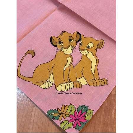Vintage Kid's Handkerchief Disney Lion King thumb