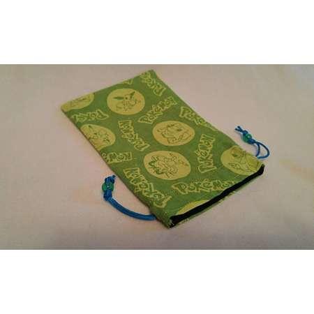 Green Pokemon - Dice Bag - 100% Cotton - Drawstring thumb