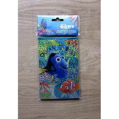 Finding Dory Holographic Journal~ Party Favor ~ Blank Book~ Notebook ~ Note Pad~Nemo~Destiny~Pearl~Marlin thumb