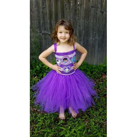 Doc McStuffins tutu dress- disney junior dress - birthday dress - doc McStuffins birthday - dres up play - halloween costume thumb