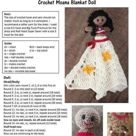 Pattern for Crochet Moana Blanket thumb