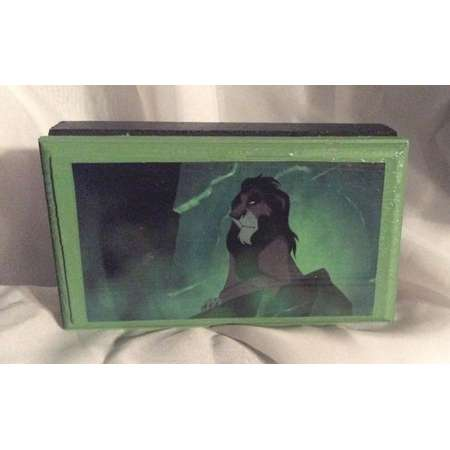 Made To Order Scar Disney's The Lion King Small Keepsake/Treasure/Jewelry Box with FREE Gift thumb