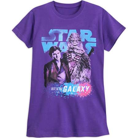 Han Solo and Chewbacca ''Best in the Galaxy'' T-Shirt for Juniors - Solo: A Star Wars Story thumb
