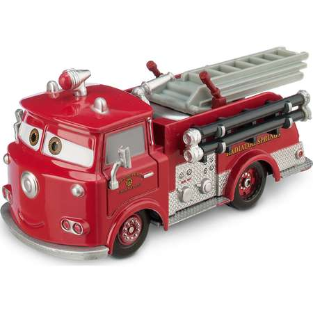 Red Die Cast Fire Engine - Cars thumb