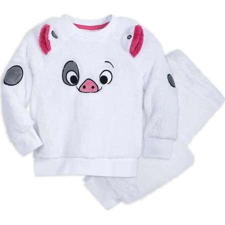 Pua Fuzzy Pajama Set for Kids - Moana thumb