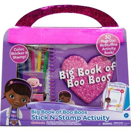 Disney Doc McStuffins Big Book of Boo Boos Stick N' Stamp Activity thumb
