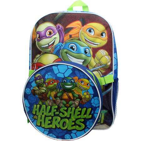 "Kids Teenage Mutant Ninja Turtles ""Half-Shell Heroes"" Backpack & Lunch Tote Set thumb"