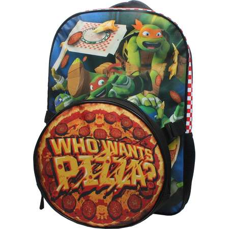 Kids Teenage Mutant Ninja Turtles 'Who Wants Pizza?' Backpack & Lunch Tote Set thumb
