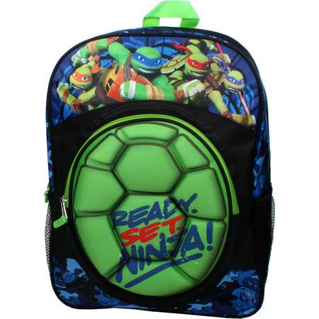 Kids Teenage Mutant Ninja Turtles Molded Shell Backpack thumb