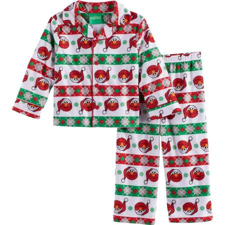Toddler Boy Sesame Street 2-pc. Elmo Pajama Set thumb