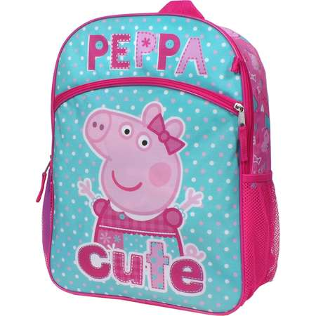 445ec5ccc3f4 Girls Peppa Pig 5-pc. Backpack