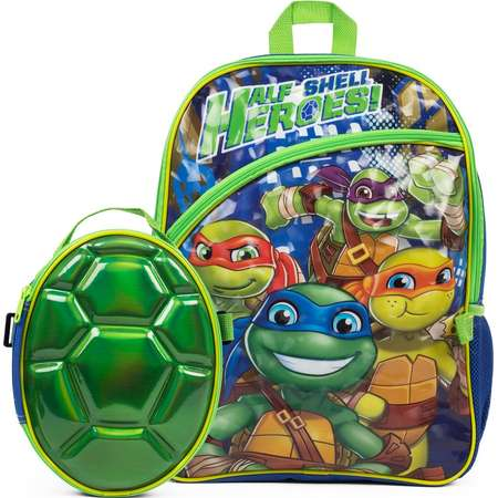Kids Teenage Mutant Ninja Turtles Backpack & Shell Lunch Box Set thumb