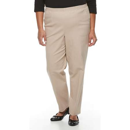 Plus Size Croft & Barrow® Twill Pull-On Pants thumb