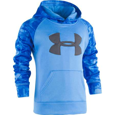 Boys 4-7 Under Armour Cloudy Grid Logo Pullover Hoodie thumb
