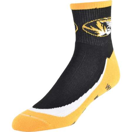 Men's Missouri Tigers Grip the Turf Quarter-Crew Socks thumb