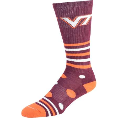Women's Virginia Tech Hokies Razzle Knee-High Socks thumb