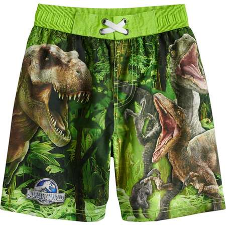 Boys 4-7 Jurassic Park Swimming Trunks thumb