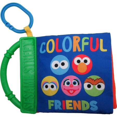 Kids Preferred Sesame Street Colors Soft Book thumb