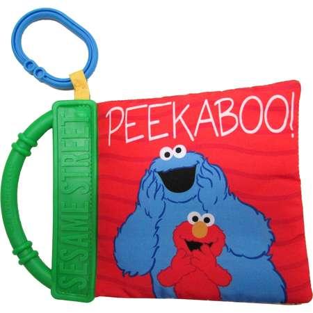 "Kids Preferred Sesame Street ""Peek-a-Boo"" Soft Book thumb"