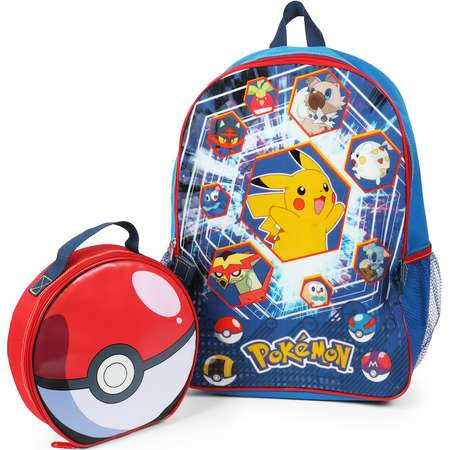 Kids Pokemon Backpack & Lunch Bag Set thumb