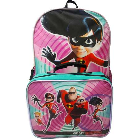 4df9bb3eef9 Kids Disney   Pixar The Incredibles 2 Violet Backpack   Lunchbox Set thumb