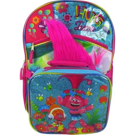 Kids DreamWorks Trolls Poppy Backpack & Lunchbox Set thumb