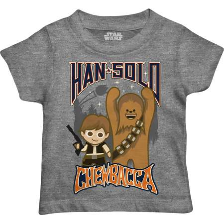 Toddler Boy Star Wars Han Solo & Chewbacca Graphic Tee thumb