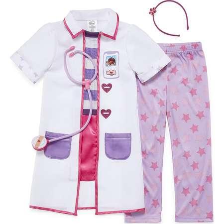 Disney Doc McStuffins 4 pc Dress Up Costume-Girls 2-8 thumb