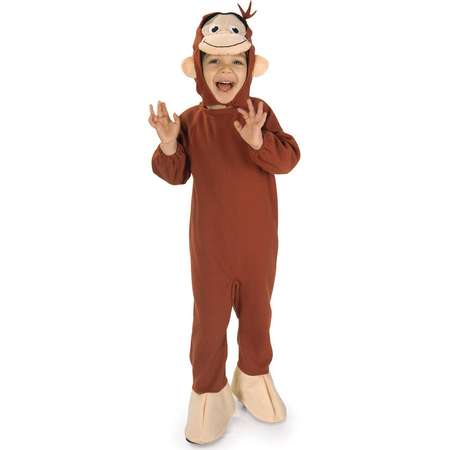 Curious George Toddler Costume - 2-4T thumb