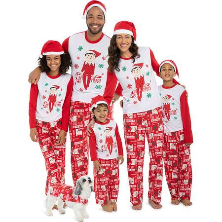 Elf On The Shelf Family Pajamas thumb