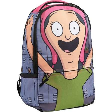Bob'S Burgers Louise Belcher Cosplay Hood DC Comics Backpack thumb
