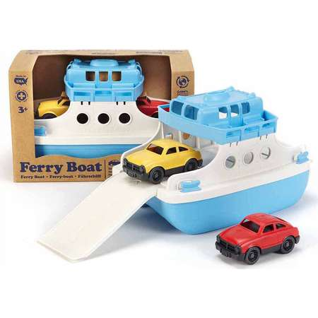 Green Toys Ferry Boat w/ Cars thumb