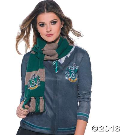 The Wizarding World of Harry Potter™ Deluxe Slytherin Scarf thumb