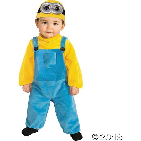 Toddler Minions™ Bob Costume - 3T-4T thumb