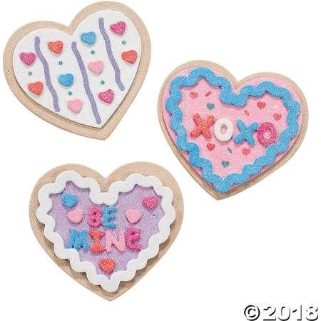 Valentine Cookie Magnet Craft Kit thumb