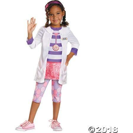 Girl's Classic Doc McStuffins™ Costume - Medium thumb