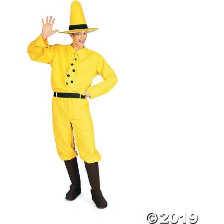 Men's Curious George Costume - Standard thumb